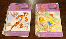 LeapFrog LeapPad Leap Into Reading Lot Of 2 Books and Cartridges - Disney's Pooh