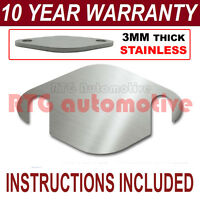 FORD FOCUS MONDEO KUGA C-MAX S-MAX GALAXY EASY FIT EGR BLANKING PLATE 3MM S//S NS