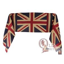 Authentic Vintage real Sciarpa Di Seta Union Jack