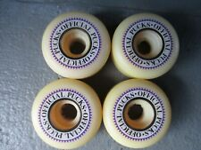 Skateboard Vintage Wheels Powell Peralta Pucks White 55mm x 101a Duro