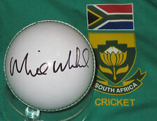 Morné Morkel (South Africa) signed white cricket ball +COA & Photo Proof