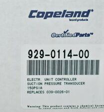 Copeland 929-0114-00 Electronic Unit Controller Suction Pressure Transducer