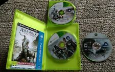 ASSASSIN'S CREED III 3 MICROSOFT XBOX 360 GAME & Original Assassins Creed disc