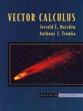 Vector Calculus, Jerrold E. Marsden, Anthony J. Tromba, Acceptable Book