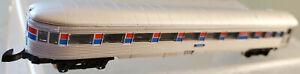 "Marklin 8765 Mini Club Z Amtrak ""3344"" Observation Passenger Car LN/NB 1980s"