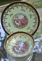 Rs Prussia Suhl and Beehive Royal Vienna Demitasse Cup and Saucer