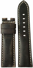 22mm XL RIOS1931 for Panatime Slate Leather Watch Strap for Panerai Deploy 22x20