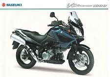 Suzuki DL1000 GB Sales Brochure DL1000 V-Strom 1000 DL1000K5 2005