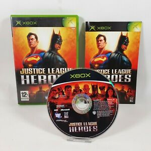 Justice League Heroes Microsoft Xbox Original Game PAL UK Complete