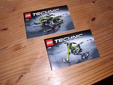 LEGO Technic Anleitung 42021 Schneemobil OBA Bauanleitung Instruction *NEU*