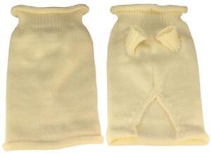 Mirage Pet Products Plain Knit Pet Sweater, Large, Cream