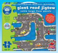 Giant Road Jigsaw Puzzle Game - Orchard Toys Educational Games