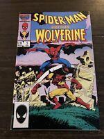 Spider-Man Vs. Wolverine #1, FN/VF 7.0, Death of Ned Leeds