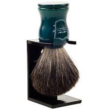 Parker Pure Badger Shaving Brush Blue Wood Handle