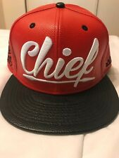 DS Crowns Guam Leather Chief Snapback Never Worn