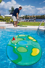 Swimways Pro-Chip Floating Island Golf Game For Inground Swimming Pool