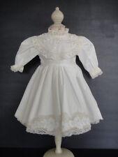 ROBE en coton pour/de POUPEE ANCIENNE de 45cm ANTIQUE DOLL DRESS. G.BRAVOT