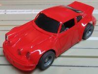 Für H0 Slotcar Racing Modellbahn ---  Porsche mit Tyco Motor und Fahrlicht