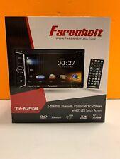 Farenheit TI-623B Double Din DVD/CD/WMA Player 6.2
