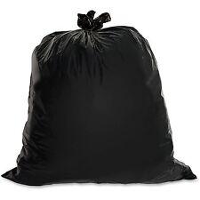 Genuine Joe Heavy-Duty Trash Bags 1.5 Mil 31-39 Gallon 100/CT Black 01533