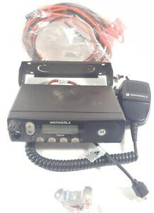 Motorola PM400 VHF 64ch 45w LTR Mobile Radio w/ Accessories