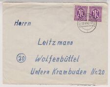 Bizone/AM-Post, 15a MeF, Barum (Braunschw), 13.4.46