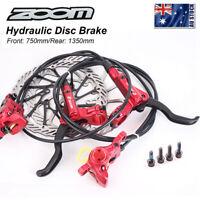 ZOOM MTB Bike Hydraulic Disc Brake 160mm/180mm Rotor Disc Brake Rotor 6 Bolts