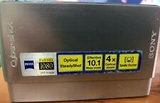 Sony Cyber-shot DSC-T77 10.1MP Digital Camera - Silver Used
