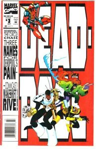 Deadpool: The Circle Chase #3 (1993) NM+ 9.6/9.8  Newsstand Edition