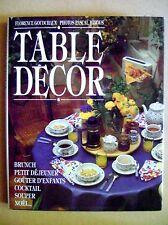 Table décor pour les fêtes bruch petit déjeuner gouter cocktail souper /D20
