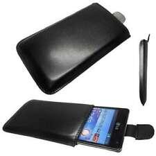 caseroxx Etui für LG P880 Optimus 4X HD in schwarz aus Kunstleder