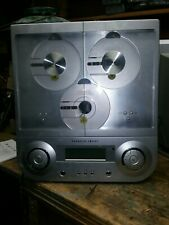 sharper image futuro 3-cd stereo #S0331 with the 3 speakers unit