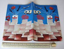 1982 Vintage ESCI Italy Plastic Kit Catalogue Multi-Lingual 7 Languages. Superb