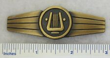 WEST GERMAN BUNDESWEHR MILITARY BAND MUSICIAN BADGE Bronze Class ORIGINAL