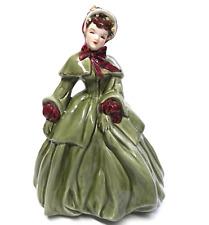 "Vintage FLORENCE CERAMICS Abigail Porcelain Doll Figurine 8.5"" Tall"