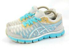Asics Gel Nerve 33 Athletic Running Shoe Womens Size 6.5 T15BQ Blue Gray