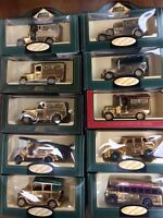 LLEDO Days Gone GOLD CLUB EDITION models - Ford Dennis Chevy Austin Morris AEC