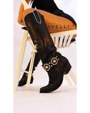 cowboy boots size 5 Italian Designer Leather
