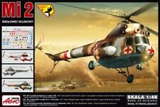 PZL/MIL Mi-2 RL MEDEVAC (NVA der DDR & LUFTWAFFE mark.) 1/48 AEROPLAST NEUHEIT !