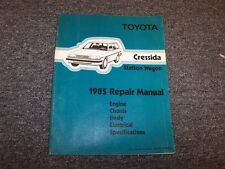 1985 Toyota Cressida Station Wagon Workshop Shop Service Repair Manual 2.8L