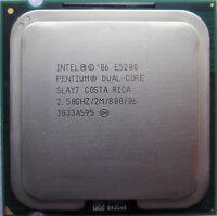 Intel Pentium Dual Core 2.50 GHz 2M 800 Mhz CPU E5200 LGA 775 Processor SLAY7