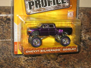 Jada High Profile 1999 Chevy Silverado Dooley 4X4 Monster Truck Chevrolet '99
