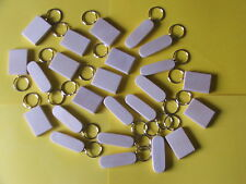 24 mixed SYCAMORE KEYRING BLANKS-pyrography,painting OR engraving-£10.95inc post