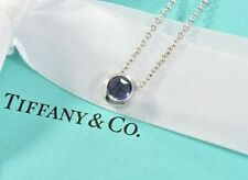 Tiffany & Co 18K Rose Gold Infinity Pendant Double Chain Necklace and Box Pouch