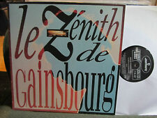 Serge Gainsbourg Le Zénith De zenith NM RE LP '89 mercury719407 vinyl france !!