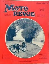 1938 MOTO REVUE  REGLAGE DE DISTRIBUTION DEPART DU BOL D'OR SPORT CONSOMATION