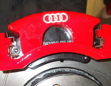 AUDI REFLECTIVE Brake Caliper Calliper Decals Stickers A1 A2 A3 A4 A5 S2 S3 TT