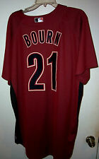 MICHAEL BOURN (Houston Astros) #21 Game Used/Worn Jersey