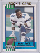 EMMITT SMITH Dallas Cowboys ROOKIE CARD 1990 Topps Traded #27T Football RC