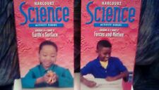 Hardcourt Science Activity Videos LOT of (2) tapes Grade 4 VHS educational kids